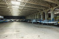 Old Sarum Airfield - inside the main hangar at Old Sarum - by Chris Hall