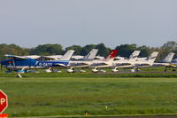 Oxford Airport - Oxford Aviation Academy Cessna 182T's - by Chris Hall