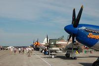 Lakeland Linder Regional Airport (LAL) - War Birds at 2014 Sun n Fun, Lakeland Linder Regional Airport, Lakeland, FL - by scotch-canadian