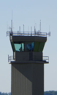 Arnold Palmer Regional Airport (LBE) - Control tower - by Arthur Tanyel
