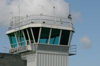 Morlaix Ploujean Airport, Morlaix France (LFRU) - Control tower, Morlaix-Ploujean Airport (LFRU-MXN) - by Yves-Q
