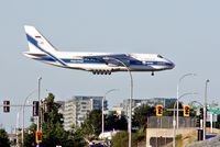 Vancouver International Airport, Vancouver, British Columbia Canada (YVR) - Volga-Dnepr (RA-82081 AN-124) operating VI1933 from ICN - by metricbolt