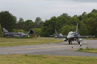 Wittmundhaven Airbase - Shelter area of Wittmund AB with Turkish AF F-16's on deployment during JAWTEX 2014 - by Nicpix Aviation Press  Erik op den Dries