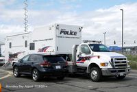 Boundry Bay Airport - Police presence at the Boundary Bay Airshow 2014 - by metricbolt