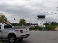 Langley Regional Airport, Langley, BC Canada (CYNJ) - Langley airport  Traffic tower - by Jack Poelstra