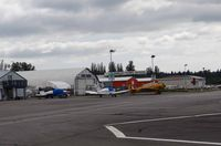 Langley Regional Airport - Ramp of Langley airport BC - by Jack Poelstra