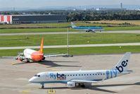 Hanover/Langenhagen International Airport, Hanover Germany (EDDV) - Business as usual on rwy and apron..... - by Holger Zengler