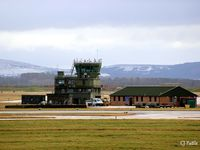 RAF Lossiemouth Airport, Lossiemouth, Scotland United Kingdom (EGQS) - The ATC buildings at RAF Lossiemouth EGQS - by Clive Pattle