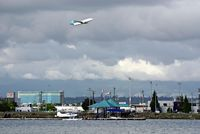 Vancouver International Airport, Vancouver, British Columbia Canada (YVR) - Westjet departure from YVR - by metricbolt