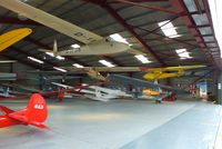 Lasham Airfield Airport, Basingstoke, England United Kingdom (EGHL) - Gliding Heritage Centre, Lasham - by Chris Hall