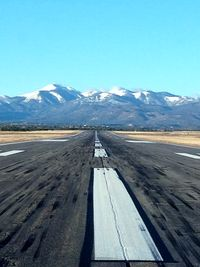 Sierra Blanca Regional Airport (SRR) - Lined Up on Rwy 24 - by Jacob Rodriguez