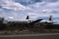 Davis Monthan Afb Airport (DMA) - A photo taken from the fence in April 1989 - by Peter Lea