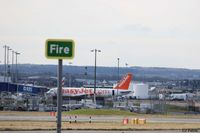 Edinburgh Airport, Edinburgh, Scotland United Kingdom (EGPH) - A view of the terminal at EGPH viewed from the north side of the airfield. - by Clive Pattle