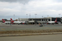 Los Angeles International Airport (LAX) - Virgin America Terminal at LAX - by Micha Lueck