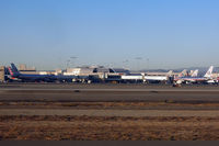 Los Angeles International Airport (LAX) - AA Terminal at LAX - still only one tail in the new livery - by Micha Lueck