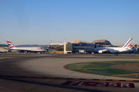 Los Angeles International Airport (LAX) - Two whale jets at the new Tom Bradley International - by Micha Lueck