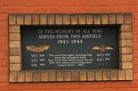 Lashenden/Headcorn Airport - In Memory of those who served at RAF Lashenden. - by Derek Flewin