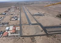 Sun Valley Airport (A20) - Taken from my 1946 J3 Cub on March 23, 2014 - by Stan Gatewood
