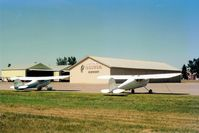 Olivia Regional Airport (OVL) - Olivia airport as seen in 1989. - by S B J
