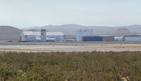 Mojave Airport (MHV) - taken from the northwest of the airport - by olivier Cortot