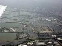 San Francisco International Airport (SFO) - Heavy rain at SFO - the city was flooded and had no power... (SFO-LAX) - by Micha Lueck
