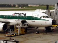 Portela Airport (Lisbon Airport), Portela, Loures (serves Lisbon) Portugal (LPPT) - Alitalia gate 14 - by Jean Goubet-FRENCHSKY
