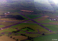 Carlisle Airport - A view of Carlisle airport taken in July 1993 during a pleasure flight in Cessna 172M G-BTMR - by Clive Pattle