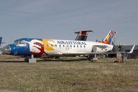 Calgary International Airport - Air Littoral CRJ - by Andy Graf-VAP