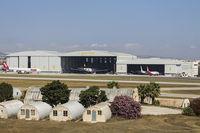 Malta International Airport (Luqa Airport) - Lufthansa Hangars - by Roberto Cassar