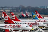 Tegel International Airport (closing in 2011), Berlin Germany (EDDT) - Every day around 11.15 a.m. TXL seems to be one of the biggest airports in the world.... - by Holger Zengler