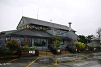 Vancouver International Airport, Vancouver, British Columbia Canada (YVR) - Harbour Air Terminal,with Flying Beaver Bar and Grill - by metricbolt