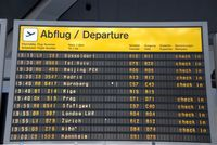 Tegel International Airport (closing in 2011), Berlin Germany (EDDT) - TXL afternoon time-table...... - by Holger Zengler