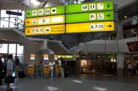 Tegel International Airport (closing in 2011), Berlin Germany (EDDT) - View into terminal building.... - by Holger Zengler