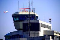 Tegel International Airport (closing in 2011), Berlin Germany (EDDT) - Tegel tower in beautiful sunlight.... - by Holger Zengler
