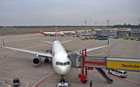Tegel International Airport (closing in 2011), Berlin Germany (EDDT) - Apron overview at gate 1 .... - by Holger Zengler