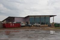 Ada Municipal Airport (ADH) - Executive Terminal under construction - by Mark Pasqualino
