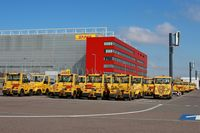Leipzig/Halle Airport, Leipzig/Halle Germany (EDDP) - Sunday rest even for yellow vehicules... - by Holger Zengler