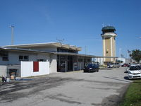 Ocala Intl-jim Taylor Field Airport (OCF) - Terminal of Ocala airport - by Jack Poelstra