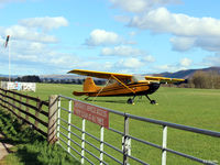 XSTR Airport - Looking airside onto the Strathallan Airfield, XSTR, near Auchterarder, Perthshire, Scotland - the home of Skydive Scotland - by Clive Pattle