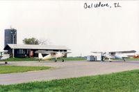 Bob Walberg Field Airport (IL36) - A fuel stop at IL36. - by S B J