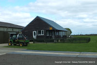 Oaksey Park Airport - Oaksey Park Club House - by Chris Hall