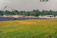 Tri-cities Airport (CZG) - The Tri-cities ramp as it looked in 1989.  - by S B J