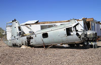 Quail Mesa Ranch Airport (15AZ) - along the runway you can find different relics - by olivier Cortot