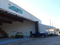 Apalachicola Regional Airport (AAF) - Hangar of Apalachicola Airport Fl. - by Jack Poelstra