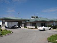 Destin-fort Walton Beach Airport (DTS) - Passenger terminal of Destin-Fort Walton beach airport Fla. - by Jack Poelstra