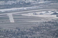 San Bernardino International Airport (SBD) - the road to Big Bear gives a nice view on SBD - by olivier Cortot