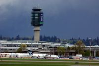 Vancouver International Airport, Vancouver, British Columbia Canada (YVR) - Go Vancouver Go   Vancouver Canucks in NHL playoff - by metricbolt