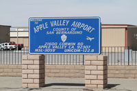 Apple Valley Airport (APV) - airport entrance - by olivier Cortot