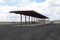 Gila Bend Municipal Airport (E63) - everything looks modern - by olivier Cortot