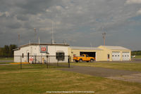 Orange County Airport (MGJ) - Operations and fueling area. - by J.G. Handelman
